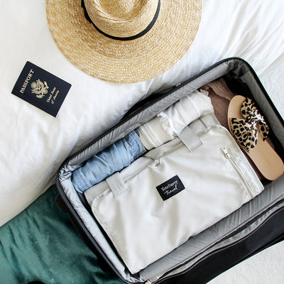 The Tips + Tricks for Packing ToteSavvy's New Travel Organizer