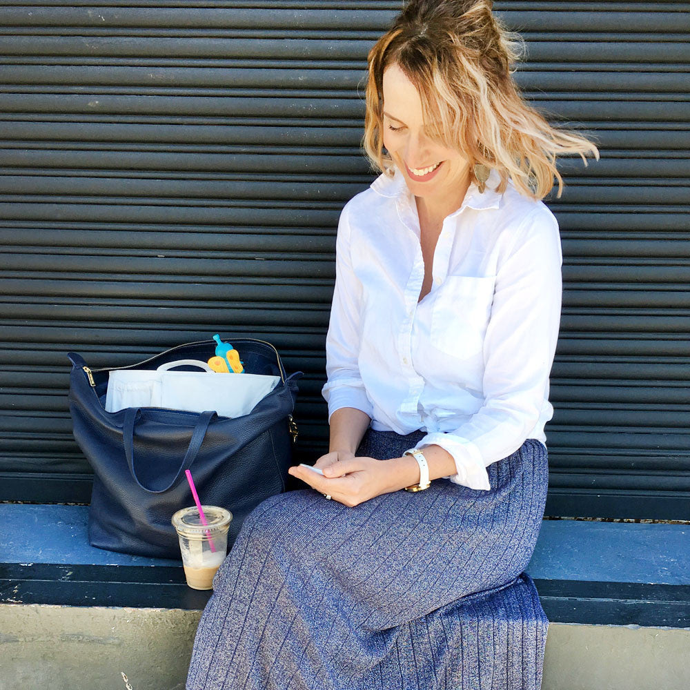 Ode to ToteSavvy From CEO Mom Cara Delzer of Moxxly