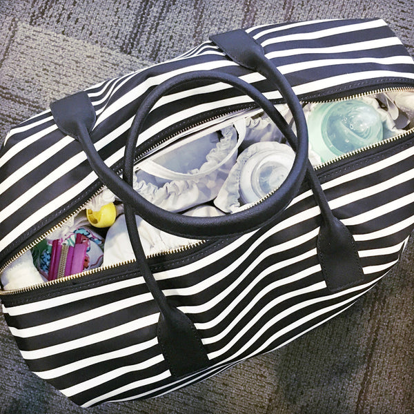 How to Pack a Diaper Bag (or ToteSavvy!) for a Flight with a Toddler