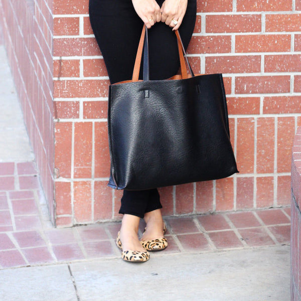 Reversible Tote by Street Level as a Diaper Bag