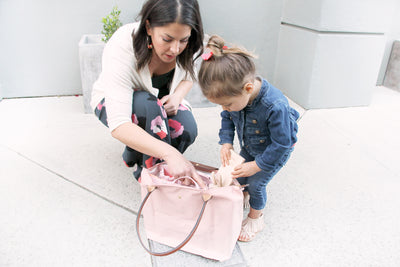 Longchamp Le Pliage as a Diaper Bag