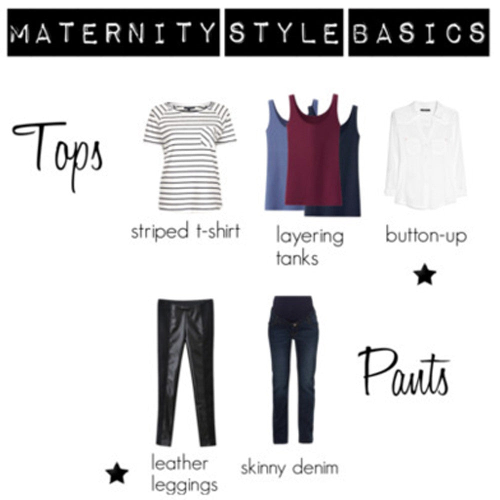 Maternity Style Basics | How to Style Your Bump