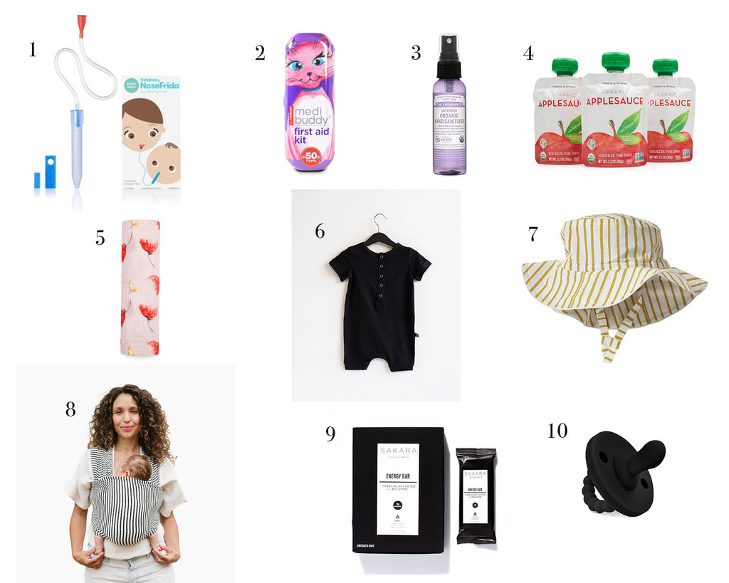must have items for your diaper bag