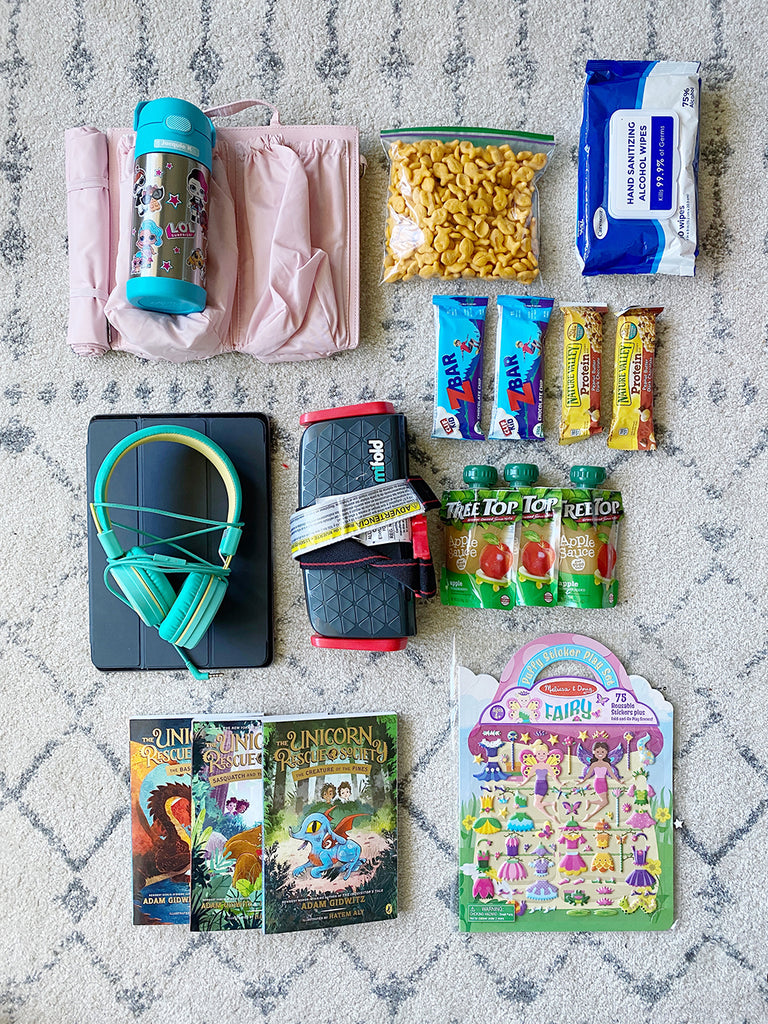 kids carry on packing list