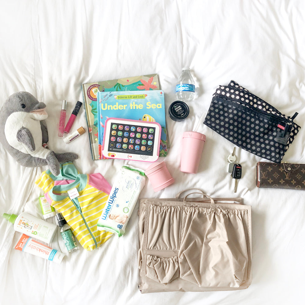 totesavvy items laid out
