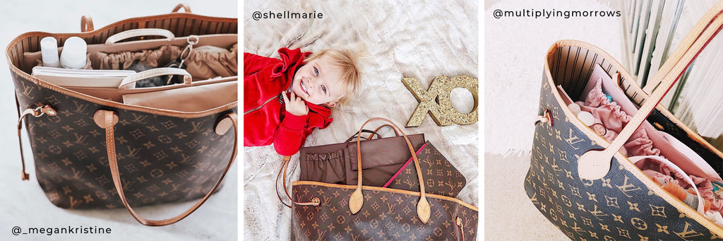 Lv Neverfull As A Diaper Bag Mm Vs Gm Totesavvy