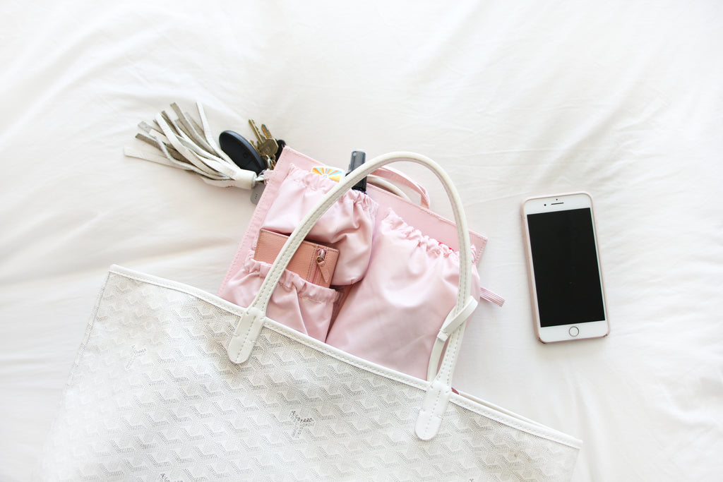 essentials packed inside totesavvy mini