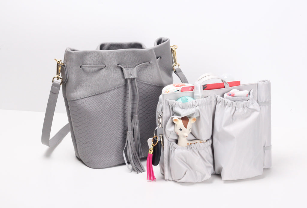 bucket bag diaper bag