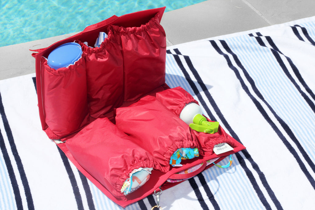 pool bag organizer
