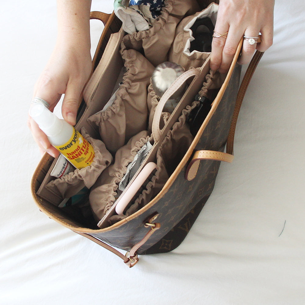 bag organizer for safe outings