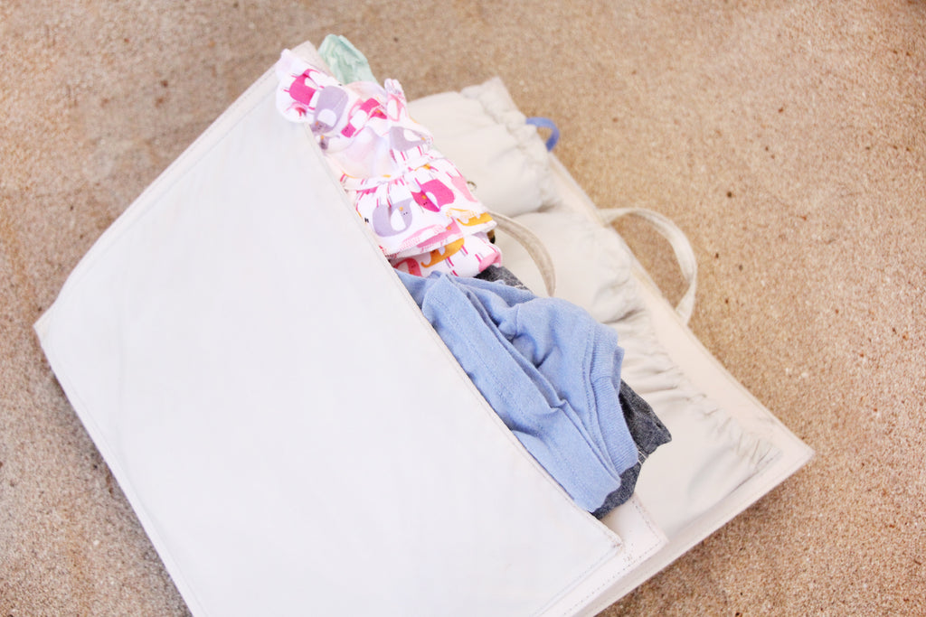 baby bag insert beach