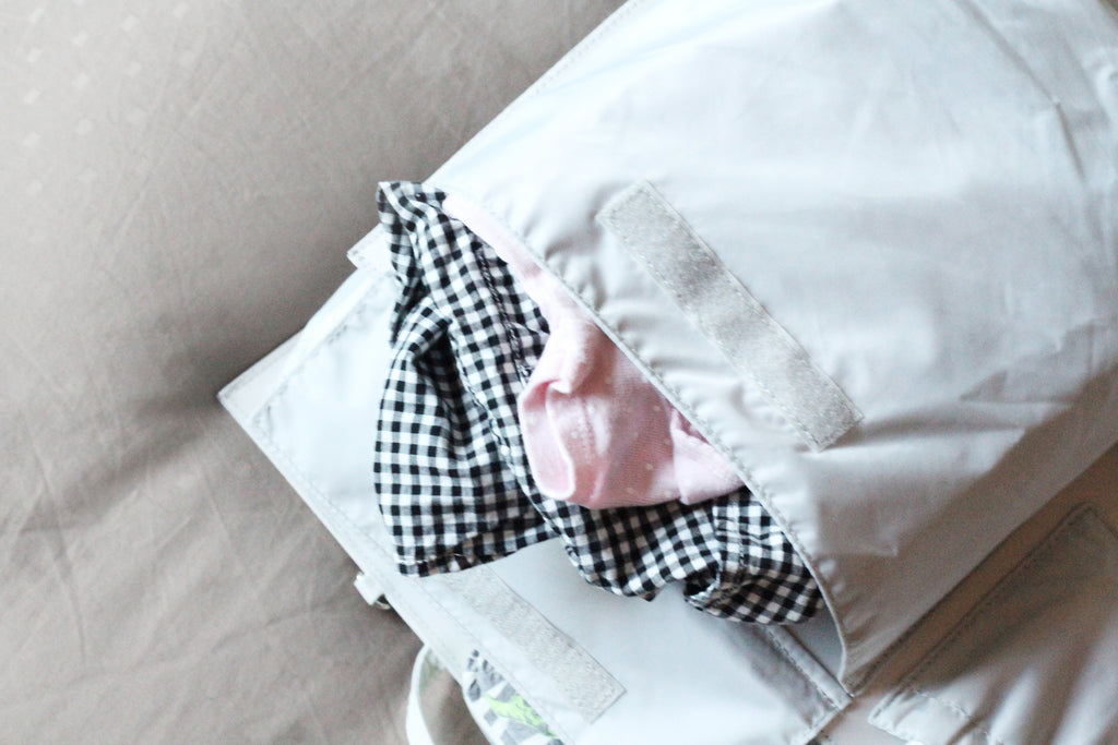 packing diaper bag