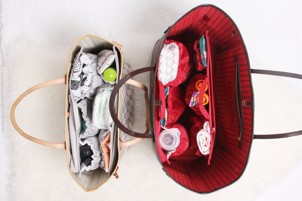 neverfull GM MM diaper bag organizer