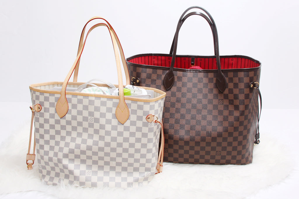 neverfull LV diaper bag