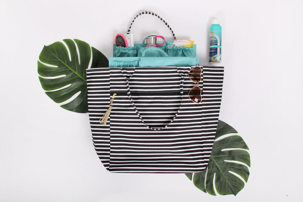 totesavvy logan and lenora pool tote