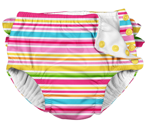 iplay swim diaper, reusable swim diaper, cute swim diaper
