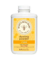 baby powder, natural baby powder, burts bees