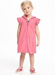 old navy, terrycloth coverup, pool coverup for kids