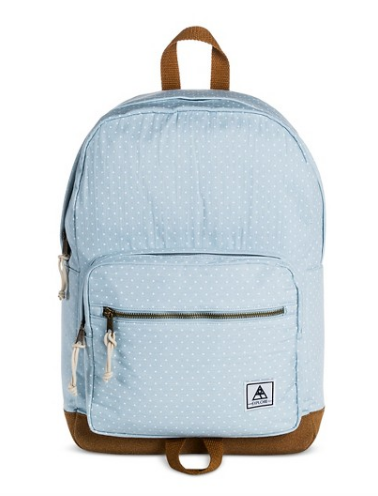 target backpack, chambray backpack, diaper bag backpack
