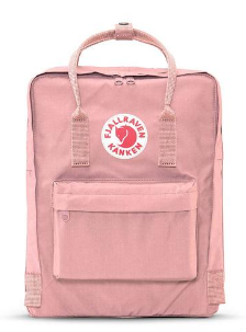 fjallraven backpack, blush backpack, canvas backpack, diaper bag backpack