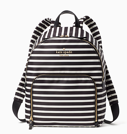 kate spade backpack, nylon backpack, diaper bag backpack