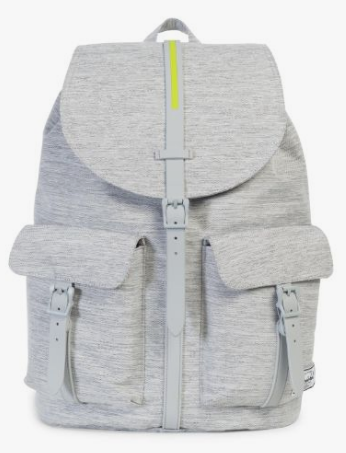 herschel backpack, large backpack, grey backpack, diaper bag backpack
