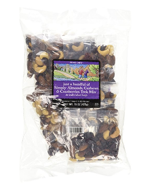 trader joe's trail mix, trail mix for kids, after school snack, back to school, totesavvy, diaper bag organizer