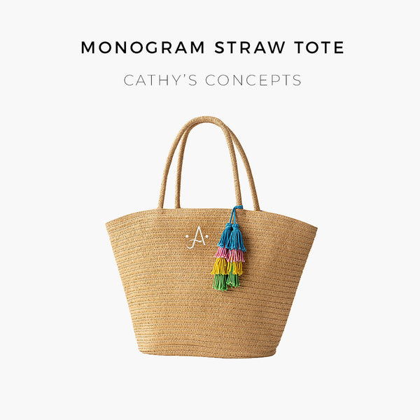 straw tote cathy concepts
