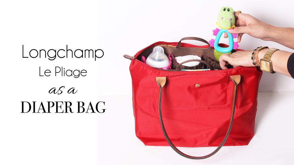 ToteSavvy organizer inside longchamp tote bag. The Longchamp Le Pliage ... 60edf64a4da88