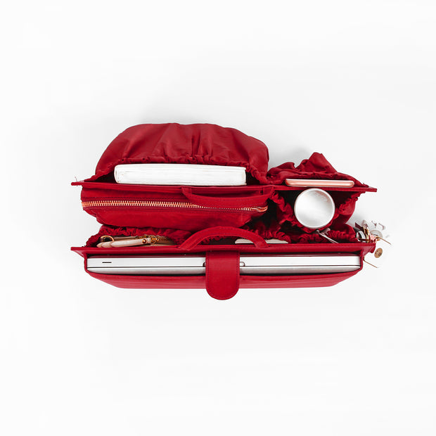 ToteSavvy Deluxe work bag organizer