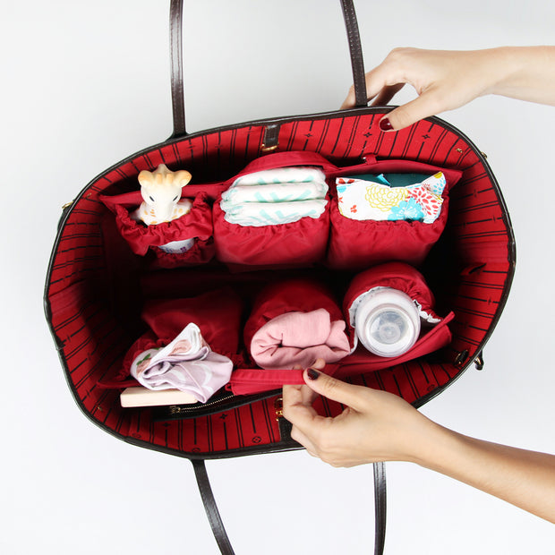 totesavvy diaper bag organizer for LV Neverfull tote