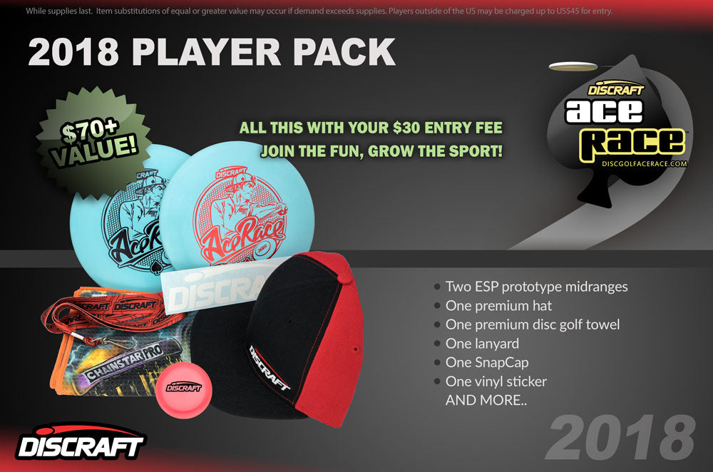 2018 Ace Race player packs-Event Directors Only 77456efa9593