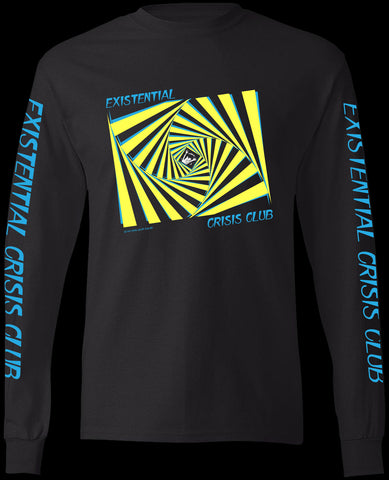 EXISTENTIAL CRISIS CLUB - FRONT & BACK PRINT L/S T