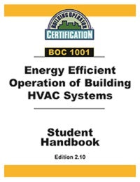 BOC 1001: Energy Efficient Operation of Building HVAC Systems