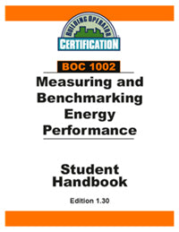BOC 1002: Measuring and Benchmarking Energy Performance