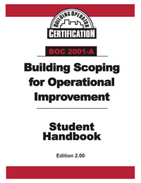 BOC 2001-A Student Handbook: Building Scoping for Operational Improvement