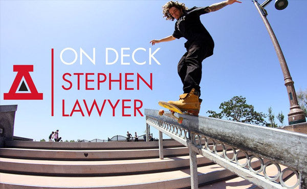 On Deck with Stephen Lawyer