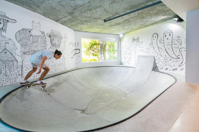 The Ultimate Skate House