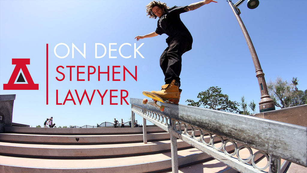 Stephen Lawyer Skateboarding