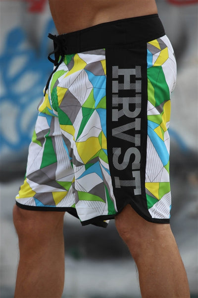 Orion Boardshort White Print