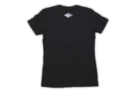 Women's Black Short Sleeve Shirt