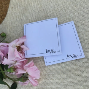 LOVEVASE NOTES 4 PACK