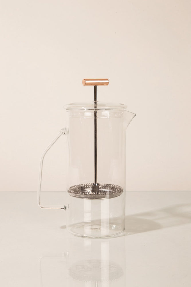 Glass French Press - Clear
