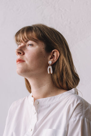 Mountain Earrings - Black