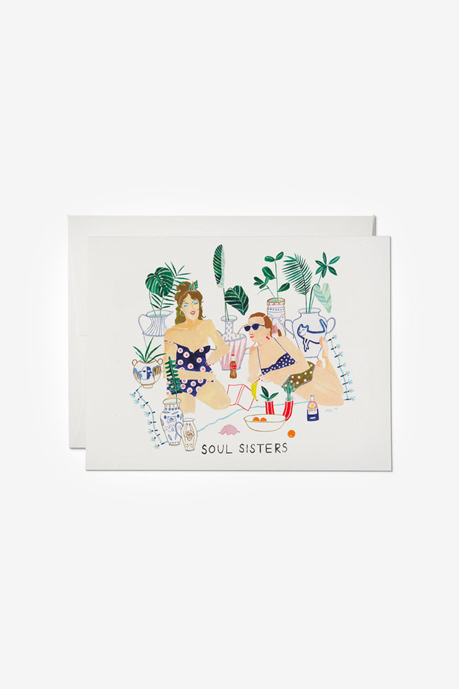 Soul Sister Friendship Card