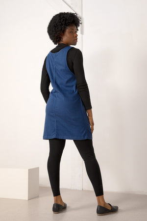 Caroline Jumper Dress - Midnight