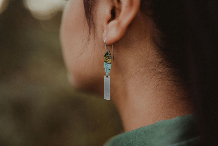 Small Jean Earring - Forest