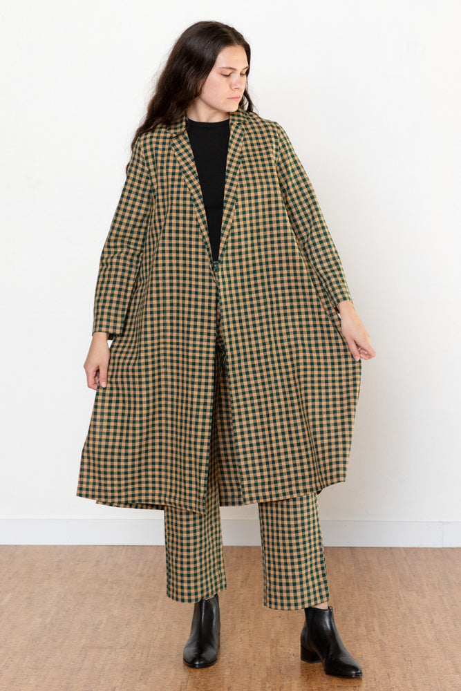 Notch Jacket - Gingham