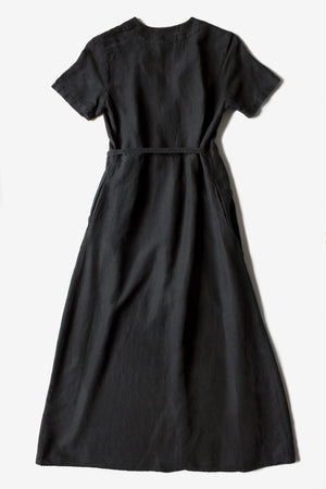 Avery Wrap Dress - Black