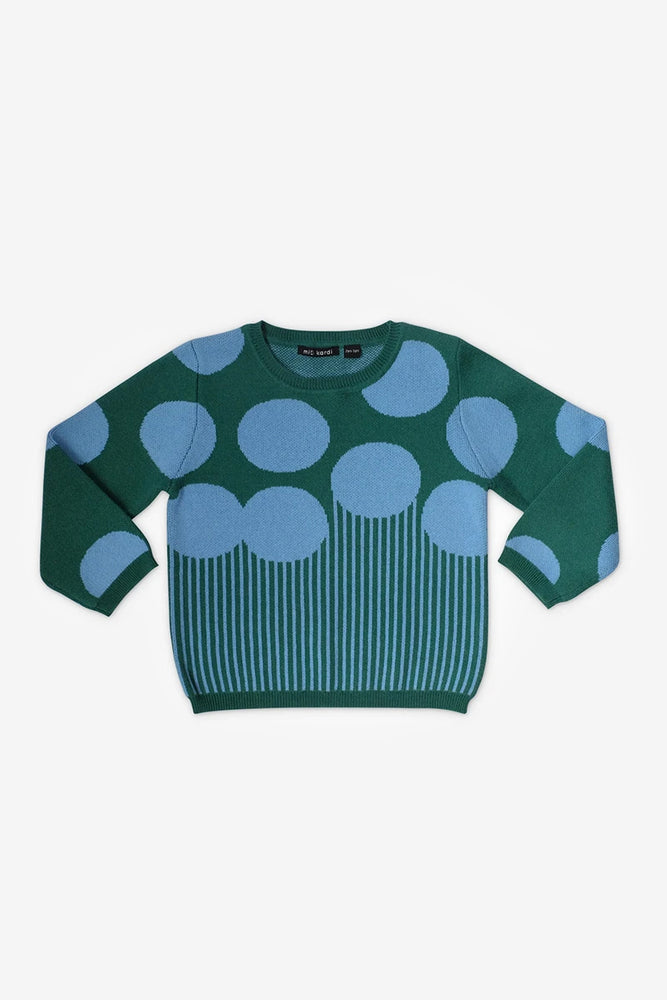 Blue Big Rocks Sweater